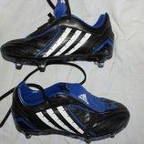 бутсы с шипами Adadas оригинал мальчику брендовая футбольная обувь детская