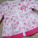 Красивое яркое платье туника TU блузка блузон фирменное