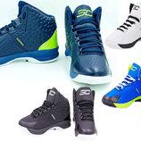 Мужские баскетбольные кроссовки Under Armour 3037 обувь для баскетбола , 4 цвета 41-45 размер, PU
