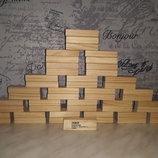 Конструктор деревянный Tesco 48 штук
