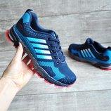 Кроссовки реплика Adidas синие 36-41р