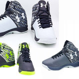 Мужские баскетбольные кроссовки Under Armour 3052 обувь для баскетбола , 3 цвета 41-45 размер, PU