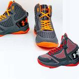 Мужские баскетбольные кроссовки Under Armour 3055 обувь для баскетбола , 2 цвета 41-45 размер, PU