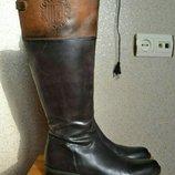 Сапоги кожаные.Италия.Размер 39