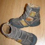 рр 27-17,1 см стильные кроссовки ботинки детские Outdoor замша