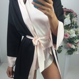 шёлковая пижама в разных цветах Лд 108