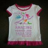 Фирменная футболка, туника Бемби на 4-5 лет