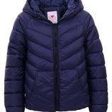 Демисезонная стеганная куртка для девочек, GLO-STORY