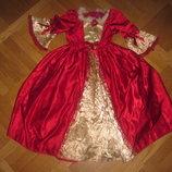 Детский карнавальный костюм принцессы Бэль на 5- 7лет, 116см Disney