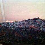 Красивый из тонкой шерсти платок с турецким рисунком