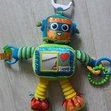 Развивающая игрушка робот Lamaze на кроватку, коляску