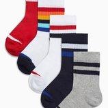 Яркие спортивные носки, 5 пар Мальчики