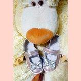 Красивые и нарядные туфельки для девочек р.24-30