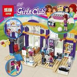Конструктор Lepin серия Girls Club 01012 Спортивный центр Хартлейка аналог Lego Friends 41312