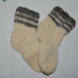 Теплые носки на зиму малышам с 1 - 3 года