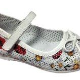 Ортопедические туфли для девочки фирмы Минимен.