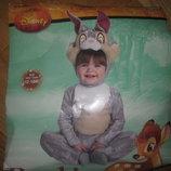 Карнавальный-Новогодний костюм зайчика заяц,кролик Disney 12-18мес