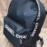 Модный стильный черный рюкзак городской спортивный школьный