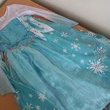 Карнавальное платье 150 см Frozen оригинал фирменное