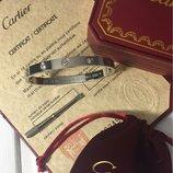 Браслет Cartier белое золото