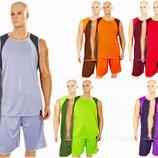 Форма баскетбольная мужская двусторонняя Unite 8802 баскетбольная форма 5 цветов, размер L-5XL