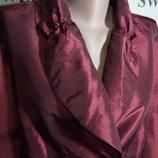 батал нарядная блуза-пиджак uk 20 пог-65см