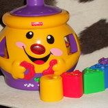 интерактивная игрушка-сортер Волшебный горшочек Fisher Price Mattel Сша оригинал