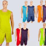 Форма баскетбольная мужская двусторонняя Stalker 8300 баскетбольная форма 5 цветов, размер XL-5XL