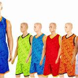 Форма баскетбольная мужская Camo 8003 баскетбольная форма 6 цветов, размер L-5XL
