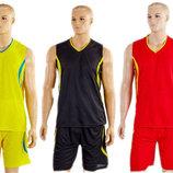 Форма баскетбольная мужская Moment 3864 баскетбольная форма 3 цветов, размер M-XL