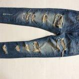 Женские рваные джинсы Diesel low waist w23 L 32 Италия оригинал