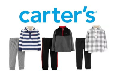 Флисовые костюмчики Carters 2-5 лет комплект поддева кофта штаны флис