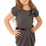 Школьное платье из французского трикотажа 122-152р