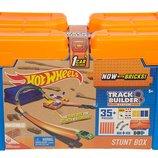 Hot Wheels Track Builder Stunt Box Трек Хот вилс игра без границ