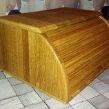 Хлебница деревянная дуб