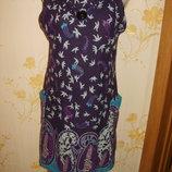 теплое платье-сарафан46-48р