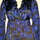 Шелковая блуза от бренда Ted Baker.Оригинал