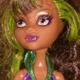 шикарная кукла Монстер Хай Клодин Вульф Clawdeen Wolf Monster High Mattel Сша оригинал клеймо