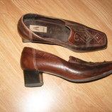 Туфли нат кожа 39,5 разм полнота G