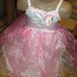 нарядное платье 4 - 6 лет