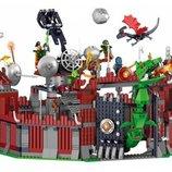 Конструктор Lele 31011Г Ninja Ниндзяго Осада крепости Ву аналог Lego Ninjago Ниндзя Го 1193 дет