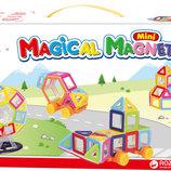 Магнитный конструктор Magic World на 68 деталей M058BГ