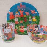 Детский набор посуды Свинка Пеппа