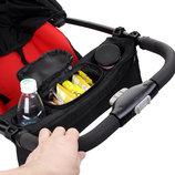 Органайзер сумка на детскую коляску держатель для бутылок подстаканник