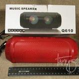 Портативная Bluetooth колонка Music Speaker Q610 - FM, MP3, USB