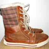 Зимние ботиночки Timberland. 38 размер. 24 см