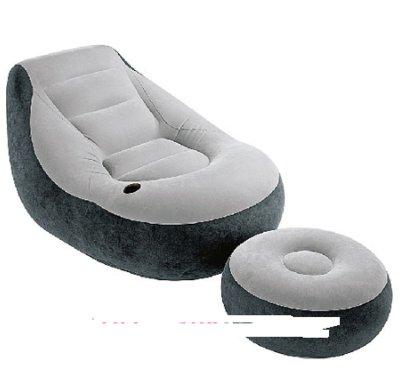 Велюровое кресло INTEX 68564