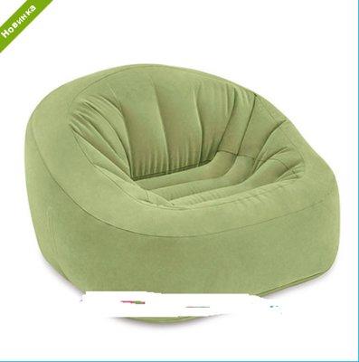 Велюровое кресло INTEX 68576
