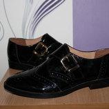 кожаные туфли лоферы office london разм 39-40 Индия