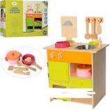 Детская деревянная кухня с аксессуарами MSN13025